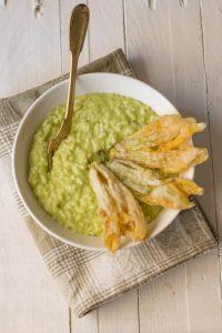 risotto zucchine, primi piatti, ricette riso, carnaroli,