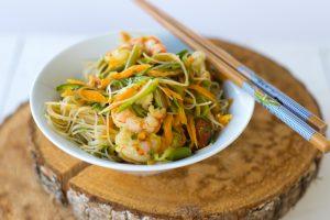 spaghetti riso. ricetta light, primo piatto gluten free