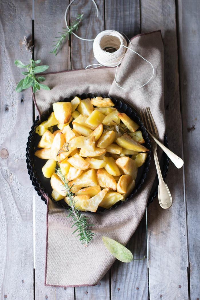 patate al forno, ricette patate, patate arrosto, come cuccinare le patate