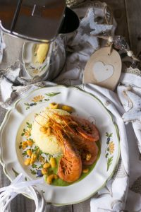 ricette di pesce, idee per le feste, ricette cuscus, ricette hotpoint