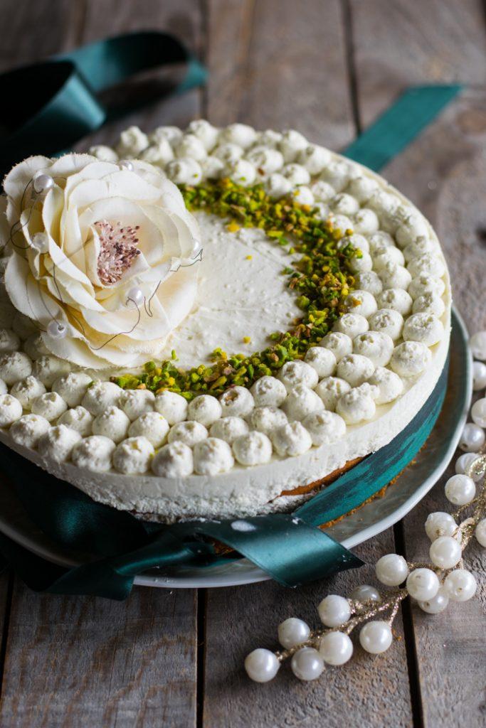 torta caffè, torta farcita, tè matcha, dessert, cena tra amici, menu cena,