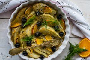 finocchi light, finocchi in forno, senza besciamella, ricette veloci, ricette verdure