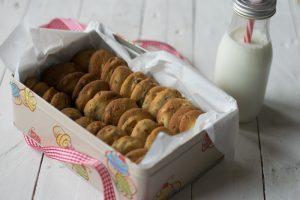 cookies, cioccolato, noci, biscotti americani