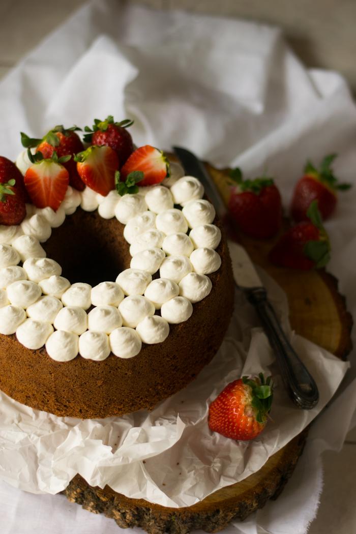 fluffosa, ciambella, ciambella americana, chiffon cake, cioccolato
