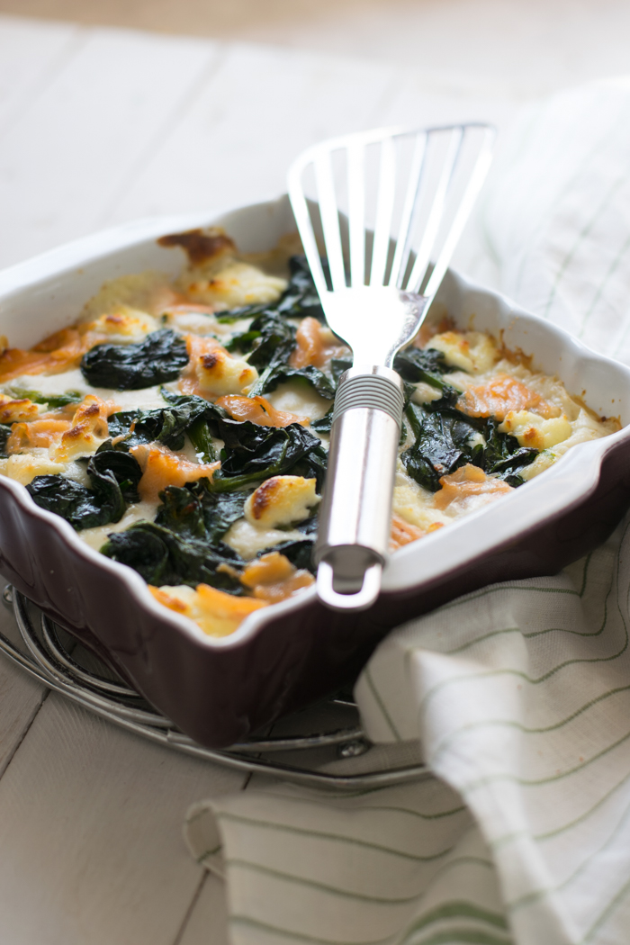lasagne, salmone, spinaci, fatto in casa, primo piatto, piatti al forno,