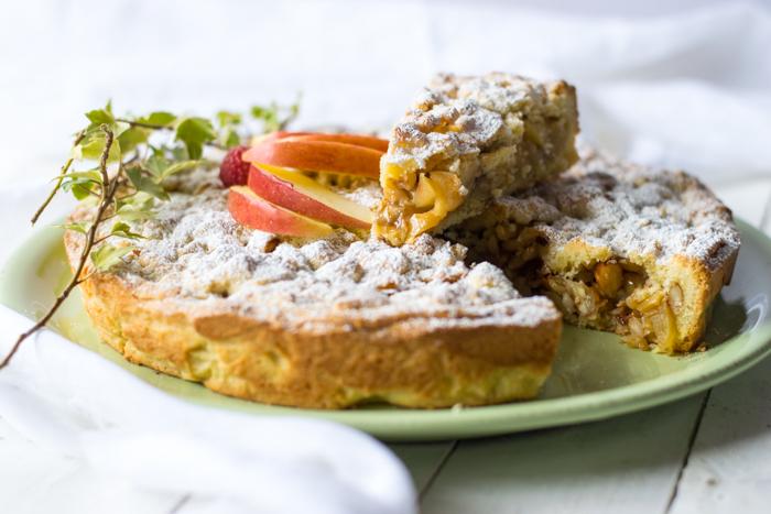 crostata, dolce colazione, merenda, pic nic, dolce mela, dolce veloce, dolce pasta frolla,