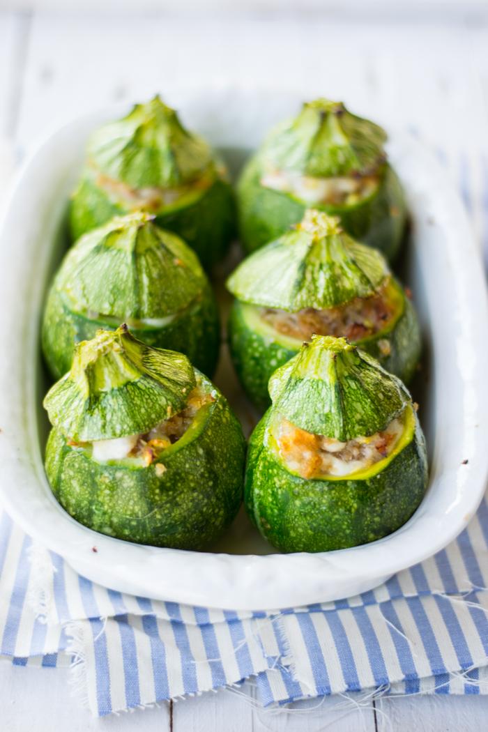 ricette zucchine, secondi verdure, ricette al forno, scamorza,