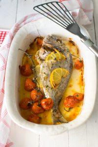 cottura al forno, cucina light, come cucinare l'orata, ricami di pastafrolla, secondi piatti pesce, ricette pesce