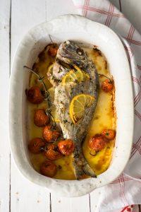 ricette pesce, orata, ricette pesce al forno, ricami di pastafrolla