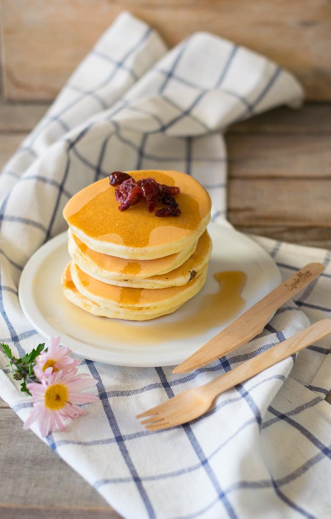 come preparare in 5 minuti i pancake