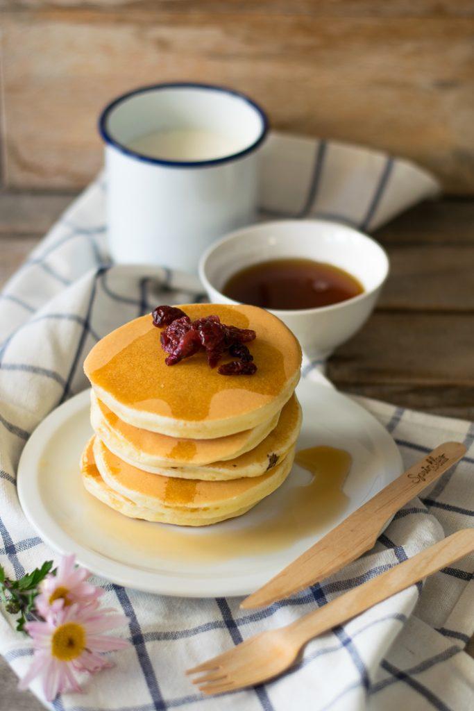 ricetta dei pancake americani