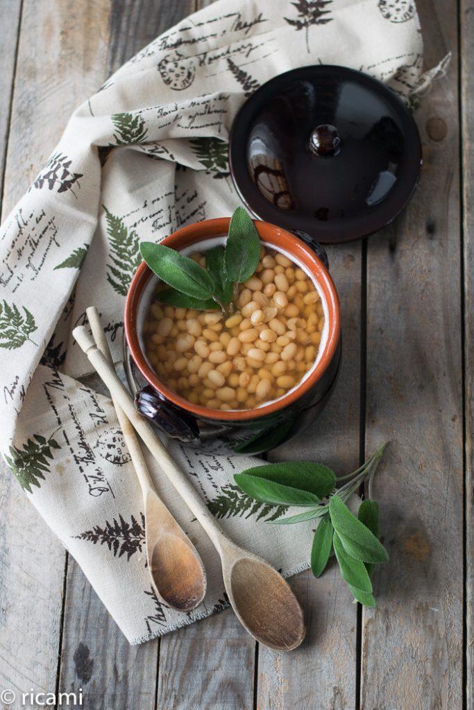 ricetta dei fagioli zolfiniall'olio