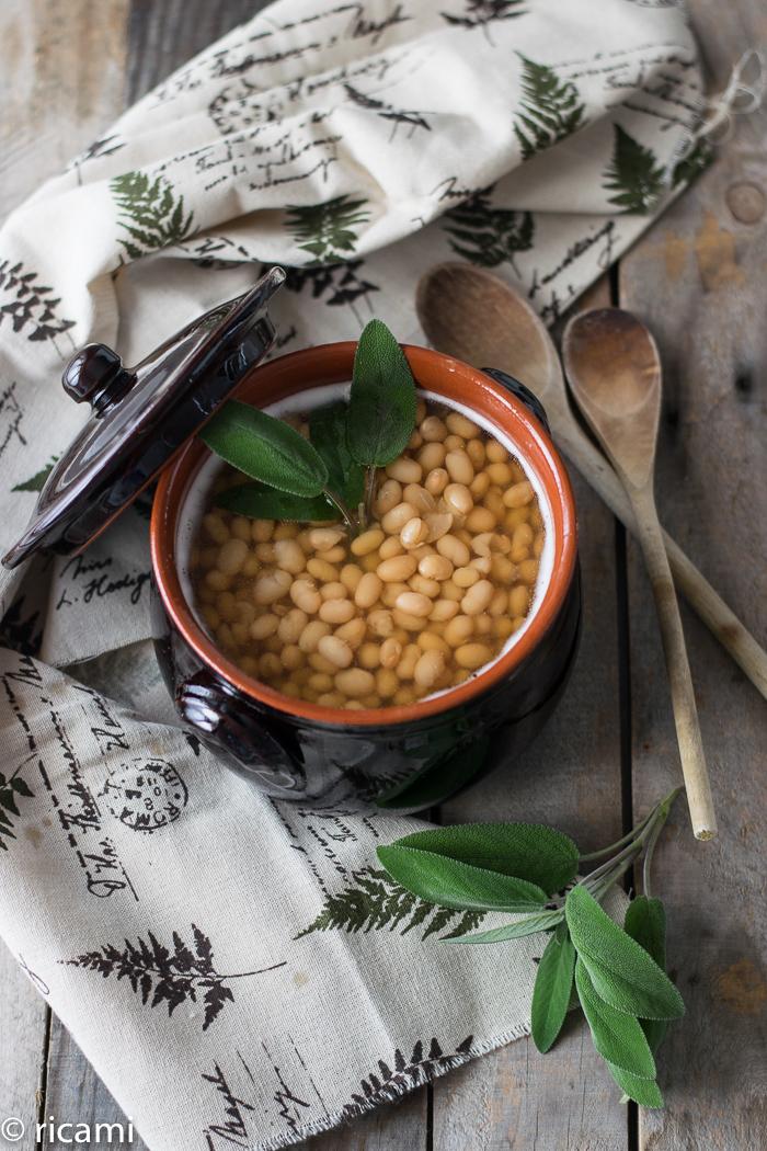 la ricetta giusta per cucinare i fagioli zolfini