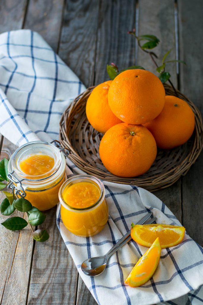 marmellata di arance con metodo classico