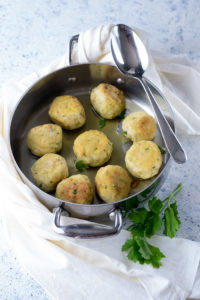 ricetta delle polpette di pesce e mollica di pane