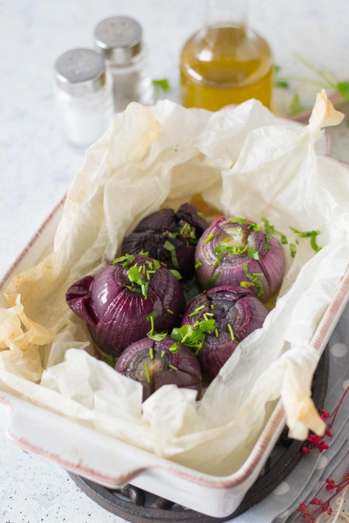 ricetta delle cipolle al cartoccio
