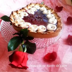 torta a cuore degli innamorati